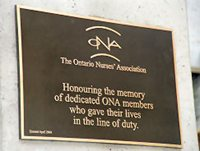 Ontario Nurses' Monument