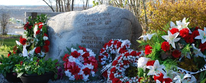 Worker memorials are the focal point for Day of Mourning events across Ontario