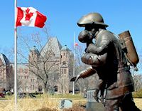 Ontario Fallen Firefighters Memorial