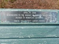 Memorial Bench and Plaque