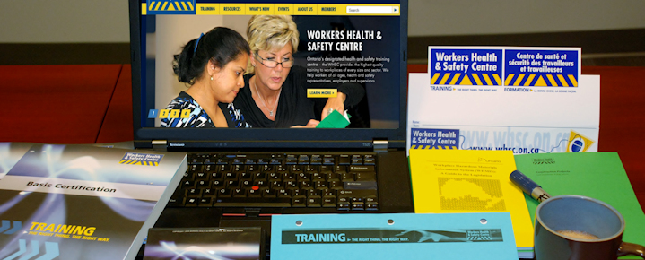 WHSC's health and safety info communicates critical information in a convenient and accessible way